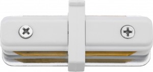 PROFILE STRAIGHT CONNECTOR white 9454