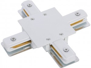 PROFILE RECESSED X-CONNECTOR white 8836