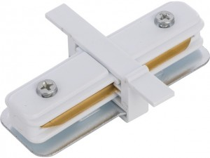 PROFILE RECESSED STRAIGHT CONNECTOR white 8967