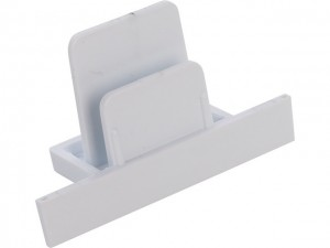 PROFILE RECESSED DEAD END CAP white 8974