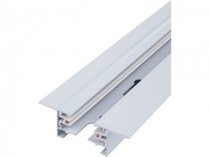 PROFILE RECESSED TRACK 1 METRE white 9012