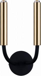 STALACTITE black-brass kinkiet 9055