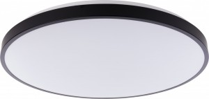 AGNES ROUND LED black L 9165
