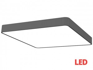 SOFT LED graphite 60x60 plafon 9528
