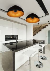 HEMISPHERE CEILING black-gold 6934
