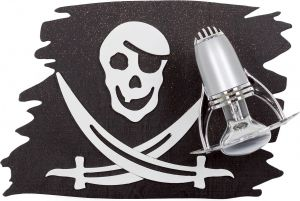 PIRATE FLAG kinkiet 4716