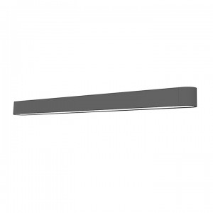 SOFT LED graphite 90x6 kinkiet 9524