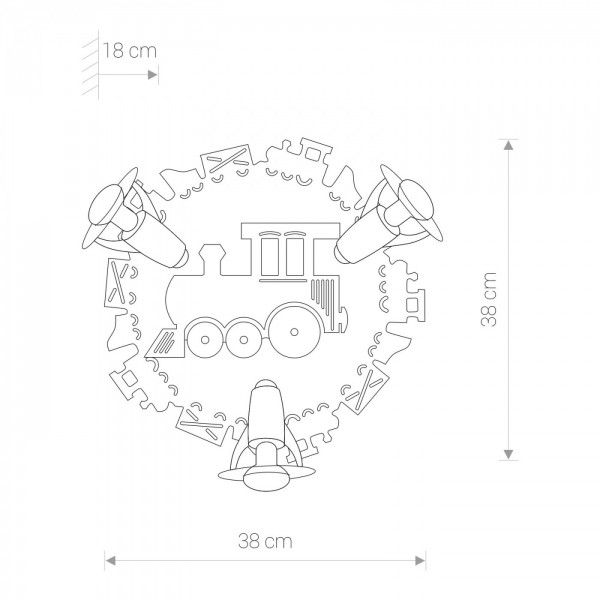 TRAIN III 4064
