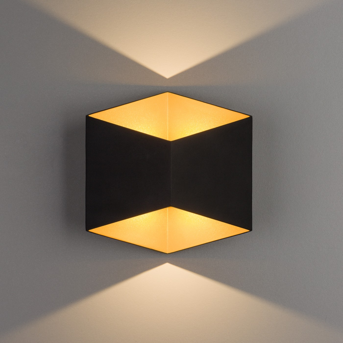 TRIANGLES LED black-gold 8141 Nowodvorski Lighting