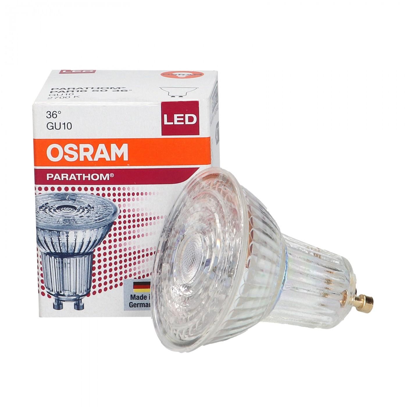 LED GU10 4.3W Parathom 2700K 36 OSRAM Lighting