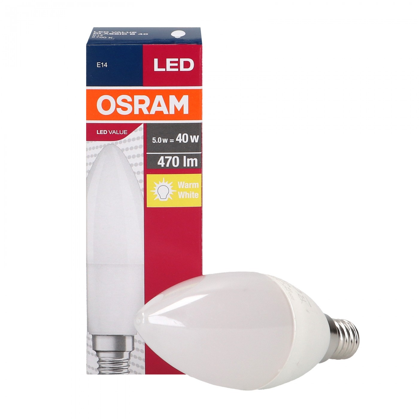 Value Classic 5W E14 B40 FR OSRAM Lighting